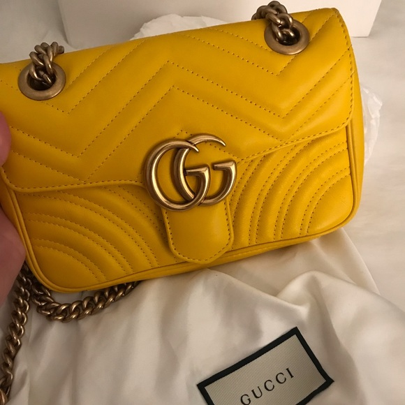 009d4ebcf1681a Gucci Bags | Marmont Leather Mini Crossbody Bag | Poshmark